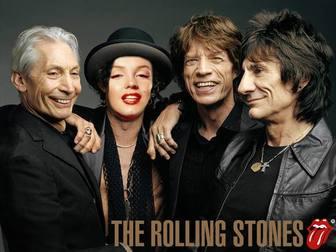 Ejemplo: Fotomontagem dos Rolling Stones. Envie sua foto e se tornar um membro dos Rolling Stones.