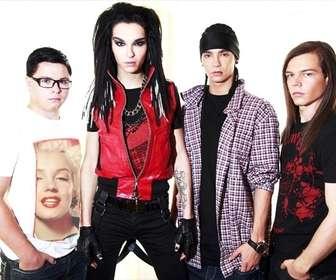 Ejemplo: Fotomontagem para colocar sua foto na camisa de um membro do Tokio Hotel.
