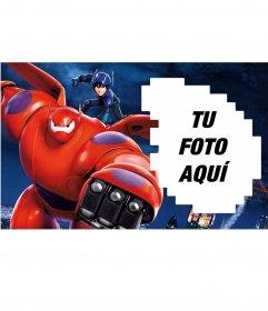 Marco para fotos de Big Hero 6