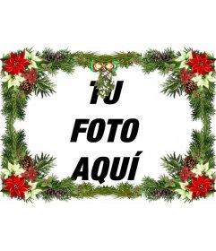 Marcos Para Fotos De Arbol De Navidad.Marco Para Fotos Con Adornos De Arbol De Navidad Que Puedes