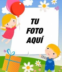 Postal personalizable para el día de la madre, el día del padre o celebraciones