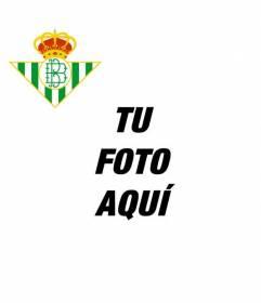 Escudo de futbol del Real Betis de Sevilla para poner en tu avatar de Facebook o Twitter y animar a tu equipo.