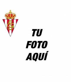 A ade el escudo del real sporting de gij n a tu fotograf a - Fotos sporting de gijon ...