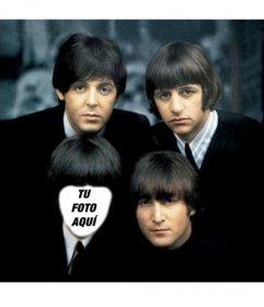 En esta fotografía podrás aparecer como uno de los Beatles.