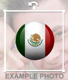 Boton de México para añadir en tus imágenes