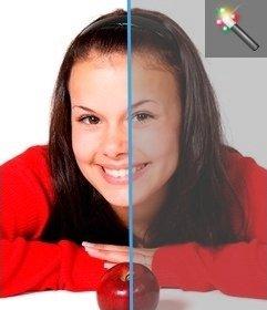 Filtro fotográfico para añadir contraste a imágenes, desde esta página, sin necesidad de descargar un editor gráfico. Sube tu fotografía y la podrás editar fácilmente