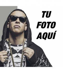 Fotoefecto para poner tu foto junto a Daddy Yankee gratis