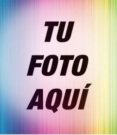 Colorido filtro para llamar la atención con tus fotos