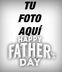 Marco del día del padre en inglés perfecto para las fotos de perfil