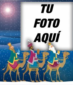 Fotomontaje de Los Tres Reyes Magos para subir una foto