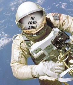 Crea un fotomontaje de un astronauta y coloca tu cara en ...