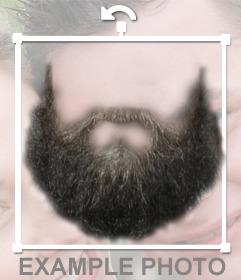 Fotomontaje para poner una barba en la foto que tu quieras