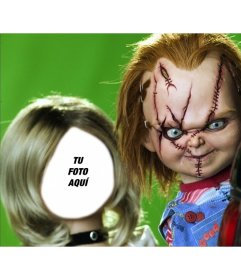 Fotomontaje de Tiffany, la novia de Chucky para añadir tu foto