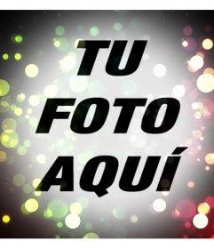 Filtro de luces de colores para añadir a tus fotos