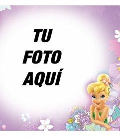 Marco online con Campanita ideal para la fotos de los niños