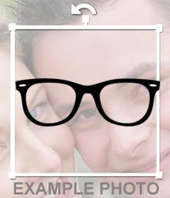 Gafas retro para ponértelas en tus fotos y gratis