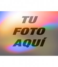 Filtro de estilo lomografia con destellos de luces y colores