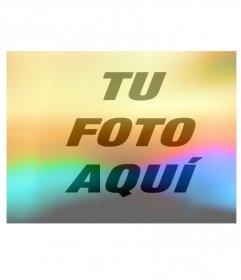 Efecto de luces de colores para poner en tus fotos