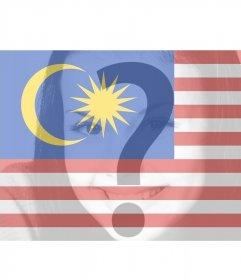 Filtro virtual para añadir en tus fotos la bandera de Malasia