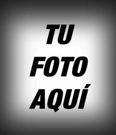 Filtro de borde negro difuminado para tus fotos