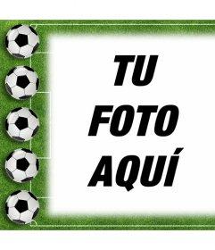Fotomontaje de Fútbol para subir tu foto