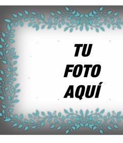Marco Para Fotos Con Ornamento Para Decorar Y Gratis Fotoefectos - Decorar-marco-fotos