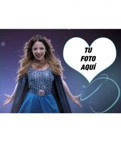 Fondo para fotos de Violetta