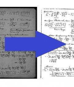 Efecto para optimizar apuntes escaneados mejorando el contraste y la legibilidad