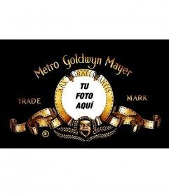 Quieres ser el león de la famosa Metro Goldwyn Mayer, crea tu fotomontaje y hazte famoso
