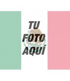 Pon tu foto junto con la bandera de México con este fotomontaje