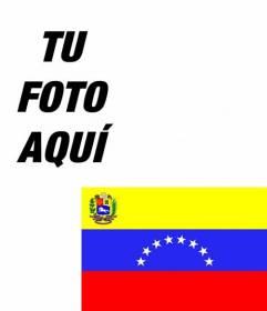 Montaje para poner la bandera de Venezuela en tu foto