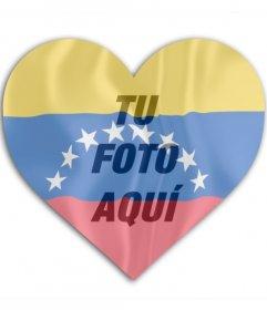 Decorar Tu Foto Con Banderas En Forma De Corazón Fotoefectos