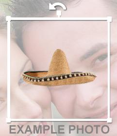 Efecto para ponerse un sombrero mariachi online