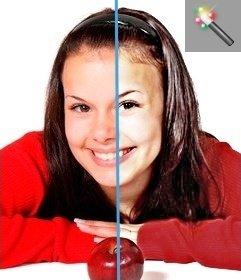 Filtro para mejorar brillo y contraste de tus fotos online