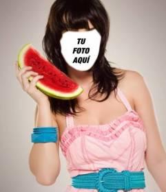 Conviértete en Katy Perry gracias a este fotomontaje para editar gratis