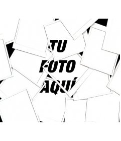Con este fotoefecto, tu imagen aparecerá como una composición tipo Collage hecha con múltiples fotografías tipo Polaroid.