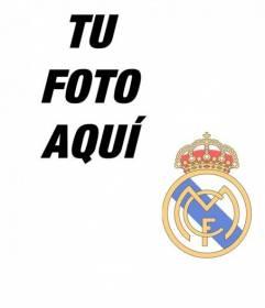 Fotomontaje para poner el escudo del Real Madrid en tu foto