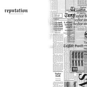 Filtro de la portada del Album Reputation de Taylor Swift
