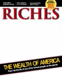 Montaje de revista de ricos con tu foto online