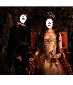 Dos reinas un rey sexo