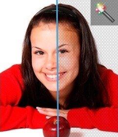Añade una malla de patrón color gris a tus fotos y dales un toque especial