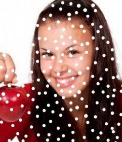 Efecto de nieve en tus fotos. Pon un efecto nevado con este foto efecto.