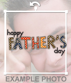 Sticker en inglés perfecto para celebrar el Día del Padre