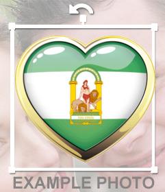 Fondo pantalla bandera andalucia