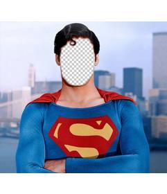 Fotomontaje para convertirte en Superman con la foto que quieras