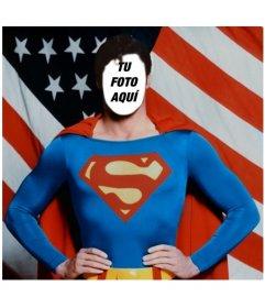 Conviértete en Superman con este fotomontaje para editar con tu foto