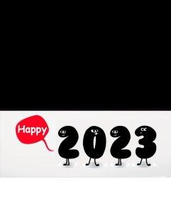 Tarjeta online para felicitar el año nuevo 2019