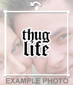Fotomontajes de Thug Life para pegar en tus fotos