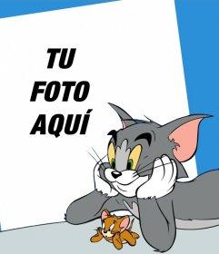 Tu foto junto con Tom y Jerry con este fotomontaje online