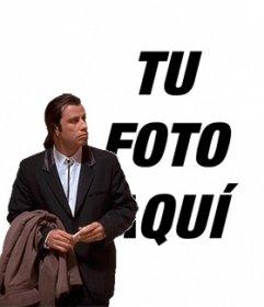 Meme online de John Travolta confundido para poner tu imagen de fondo y haz una animación divertida. #TravoltaConfused